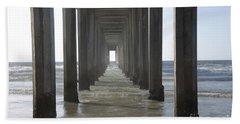 Scripps Pier La Jolla California 5 Hand Towel