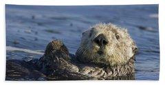 Sea Otter Monterey Bay California Bath Towel