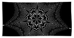 Star Fish Kaleidoscope Bath Towel