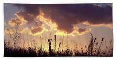 Summer Sunset Bath Towel