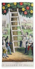 The Ladder Of Fortune Hand Towel