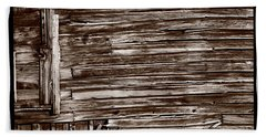 Weathered Wall In Bodie Ghost Town Hand Towel