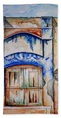 Window From Santiago Bath Towel