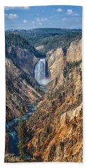 Yellowstone Lower Falls Hand Towel