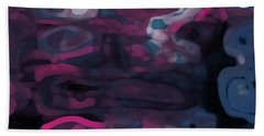 Bath Towel featuring the digital art Cromatic by Mihaela Stancu