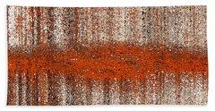 Bath Towel featuring the digital art Color Rust by Mihaela Stancu