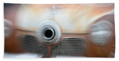 1951 Studebaker Abstract Bath Towel