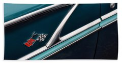 Hand Towel featuring the photograph 1958 Chevrolet Bel Air by Gordon Dean II