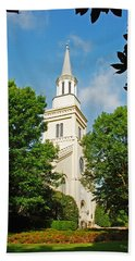Hand Towel featuring the photograph 1st Presbyterian Church by Kay Lovingood