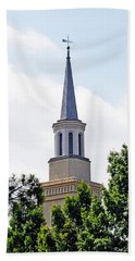 1st Presbyterian Steeple Bath Towel by Kay Lovingood