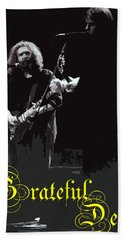 Hand Towel featuring the photograph Grateful Dead  by Susan Carella
