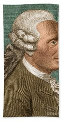 Jean Le Rond Dalembert, French Polymath Hand Towel