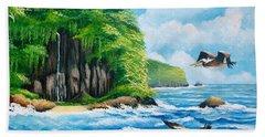 Treasure Island Hand Towel