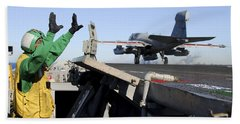 An Ea-6b Prowler Launches Hand Towel