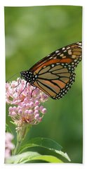 Monarch Butterfly Bath Towel by Heidi Poulin