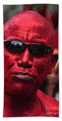 West Indian Day Parade Brooklyn Ny Hand Towel by Mark Gilman