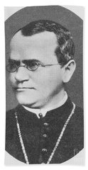 Gregor Mendel, Father Of Genetics Hand Towel