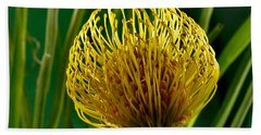 Picture Of A Pincushion Protea Bath Towel