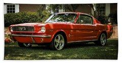 '66 Mustang Hand Towel