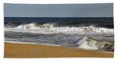Hand Towel featuring the photograph A Brisk Day by Sarah McKoy