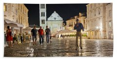 A Croatia Night 3 Hand Towel