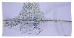 A Day In Central Park Bath Towel