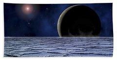 A Distant Star Illuminates An Hand Towel
