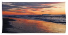 Bath Towel featuring the photograph A Passion For Purple by Lynn Bauer