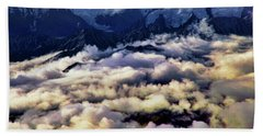 Above The Clouds Bath Towel