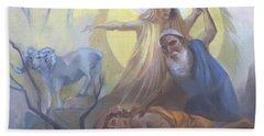 Abraham And Issac Test Of Abraham Bath Towel