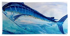 Abstract Marlin Bath Towel