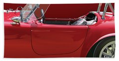 Ac Cobra Detail Hand Towel by Alain Jamar