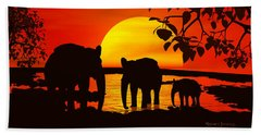 Africa Bath Towel