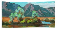 After The Rain Hand Towel by Diane McClary