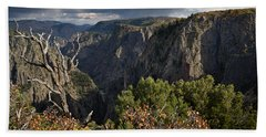 Afternoon Clouds Over Black Canyon Of The Gunnison Hand Towel