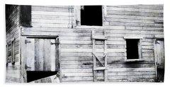 Aging Barn  Bath Towel