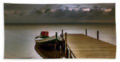 Albufera Before The Rain. Valencia. Spain Bath Towel
