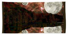 Hand Towel featuring the photograph Alien World by Sarah McKoy
