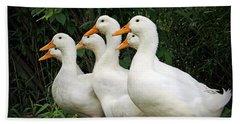 All My Ducks In A Row Bath Towel