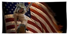 American Cowgirl Bath Towel