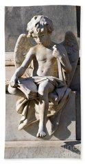 Angel Of Baroque Bath Towel