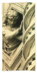 Angel Of The Basilica Bath Towel