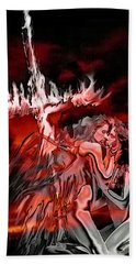 Angels Of Lust Bath Towel