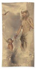 Aphrodite And Eros Bath Towel