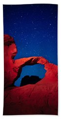 Arch In Red And Blue Hand Towel