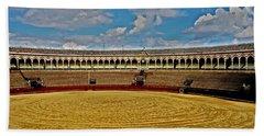 Arena De Toros - Sevilla Hand Towel