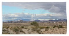 Arizona Desert View Bath Towel