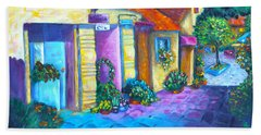 Artist Village Bath Towel