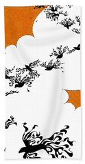 As The Crows Fly Hand Towel