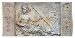 Athena Relief In Gdansk Hand Towel